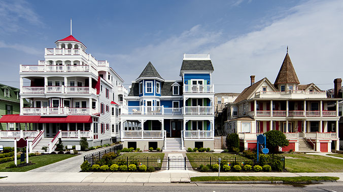 Cape May historic victorian mansions